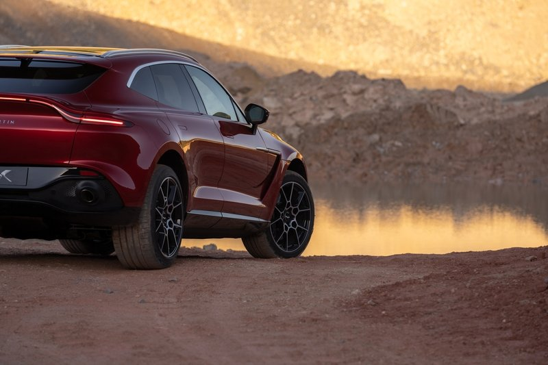 The 2021 Aston Martin DBX Arrives as the Brand's First SUV with a Huracan-Like Price Exterior - image 872447