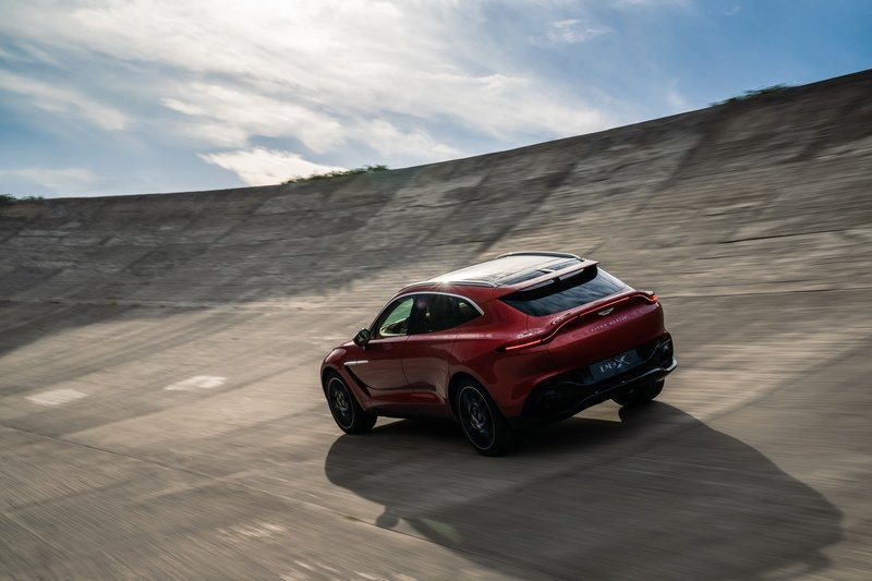 The 2021 Aston Martin DBX Arrives as the Brand's First SUV with a Huracan-Like Price Exterior - image 872450