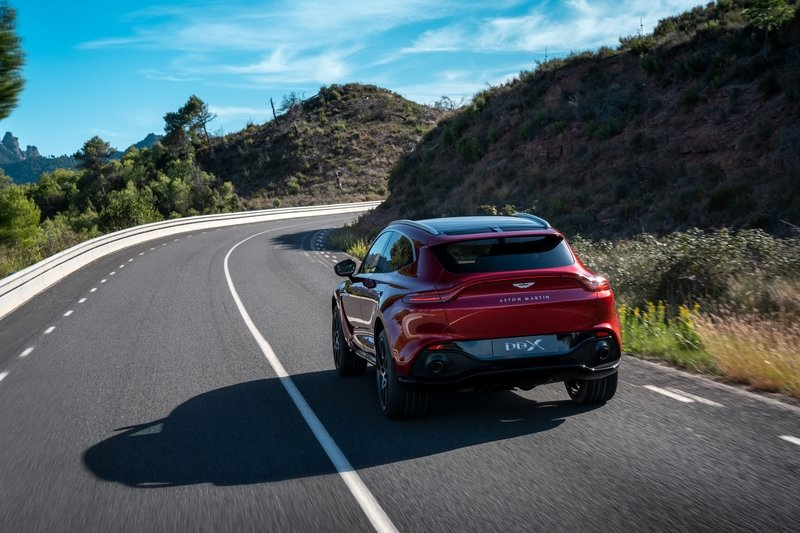 The 2021 Aston Martin DBX Arrives as the Brand's First SUV with a Huracan-Like Price Exterior - image 872445
