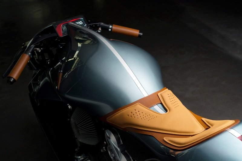 Aston Martin's $120,000 Motorcycle: the AMB 001 Exterior High Resolution Wallpaper quality - image 870719