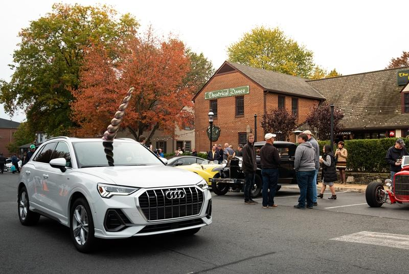Audi Got Horny for Halloween and Gave the Q3 an Epic Mythical Erection