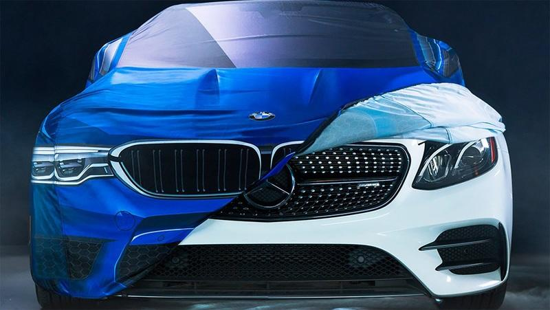 BMW's Halloween Trolling Taught Us That Even Mercedes Pities BMW's New Massive Grilles