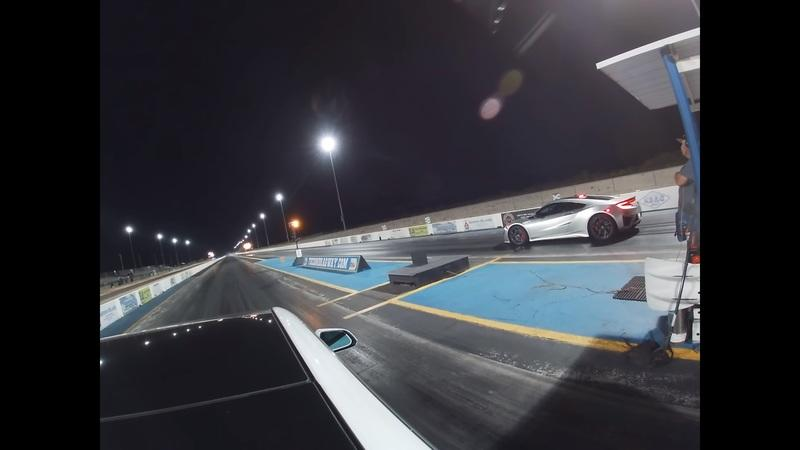Can a Tesla Model 3 Really Beat an Acura NSX in a Drag Race?