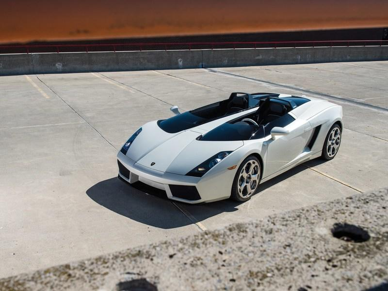 Car for Sale: Gallardo-Based 2006 Lamborghini Concept S Roadster