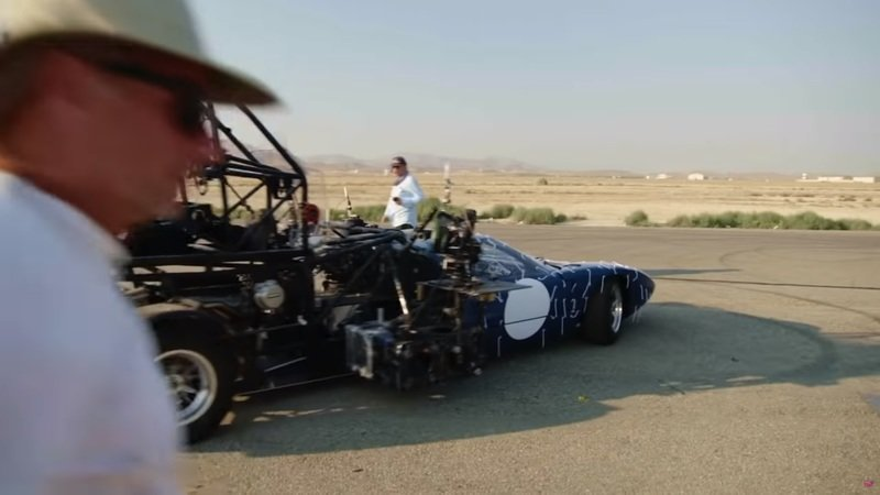 Check Out This Ridiculous Ford GT40 Movie Rig from Ford V Ferrari
