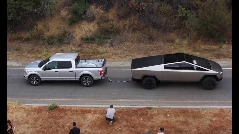 Engineering Explained Exposes Why the Tesla Cybertruck vs. Ford F-150 Tug of War Was a Scam - image 874226