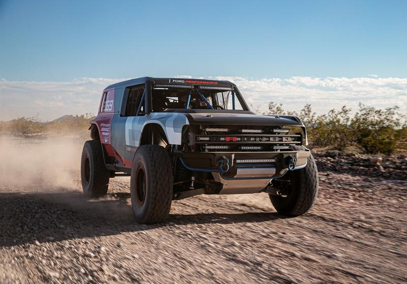 You May See the Ford Bronco R Baja Racer Again Soon
