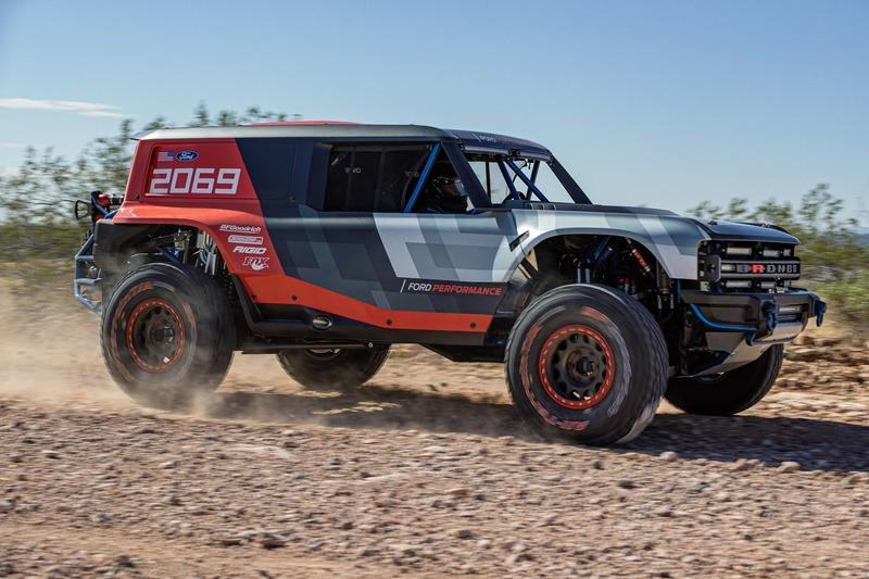 2020 Ford Bronco R Race Prototype Exterior - image 869463