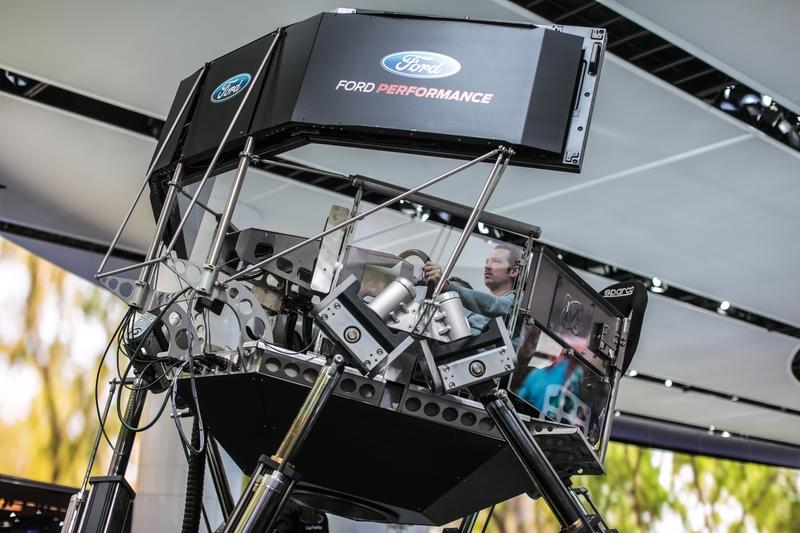 Ford Used Its High-Tech Racing Simulator to Tune the Mustang Mach-E