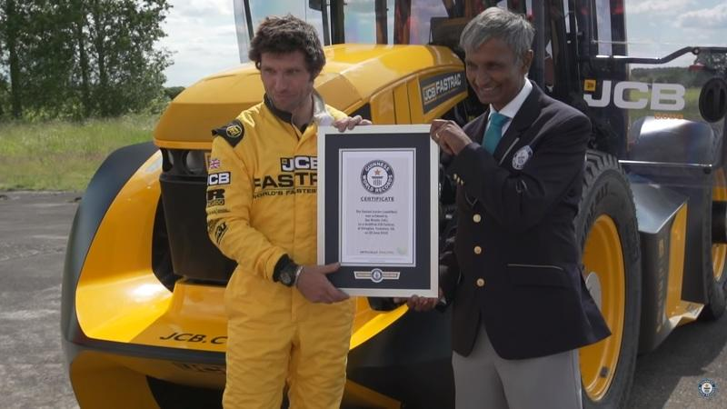 Guy Martin Pilots The World's Fastest Tractor to a Record Top Speed of 153.7 MPH