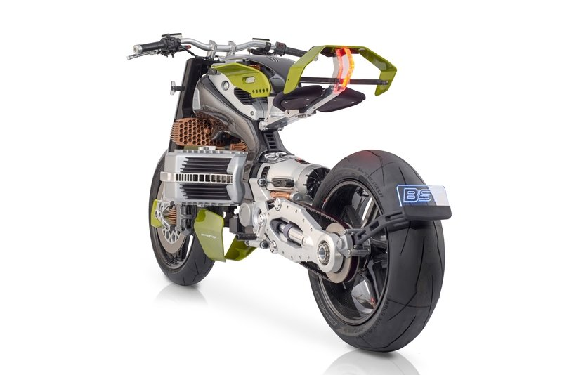 BST shows its radical new electric motorcycle designed by Piere Terblanche - The HyperTek
