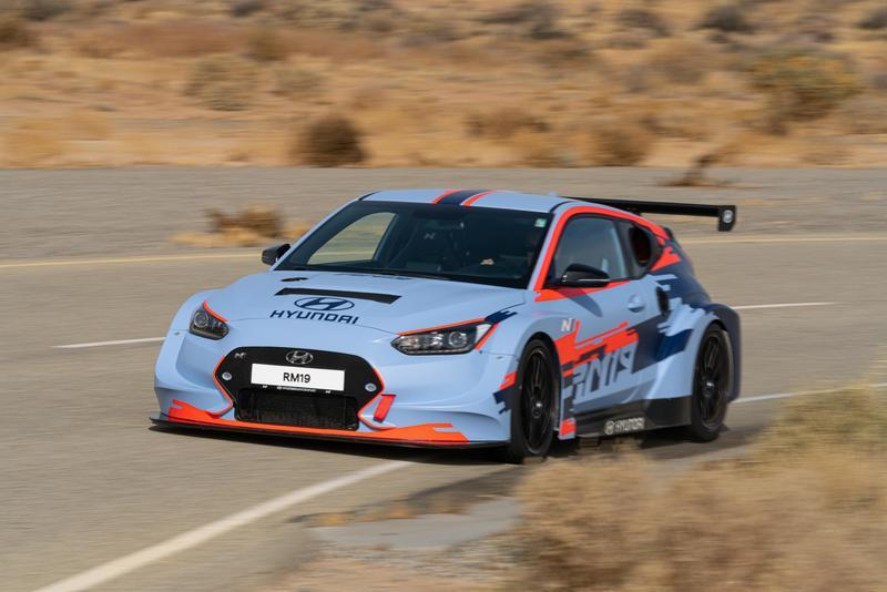 Hyundai's Latest Veloster-based Mid-Engined Track Beast Previews Road Model