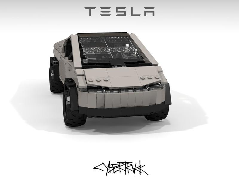 Is It Possible to Like This Custom LEGO Tesla Cybertruck More Than the Real Thing? - image 873406