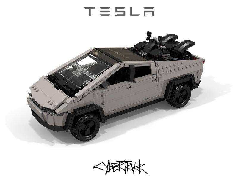 Is It Possible to Like This Custom LEGO Tesla Cybertruck More Than the Real Thing?