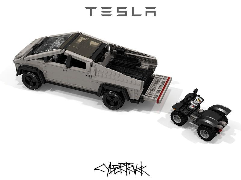 Is It Possible to Like This Custom LEGO Tesla Cybertruck More Than the Real Thing? - image 873409