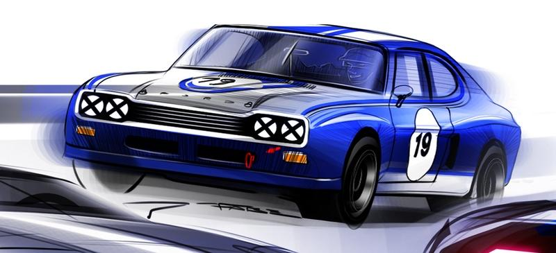 Is the Ford Capri Coming Back as the Mini Ford GT We All Deserve?
