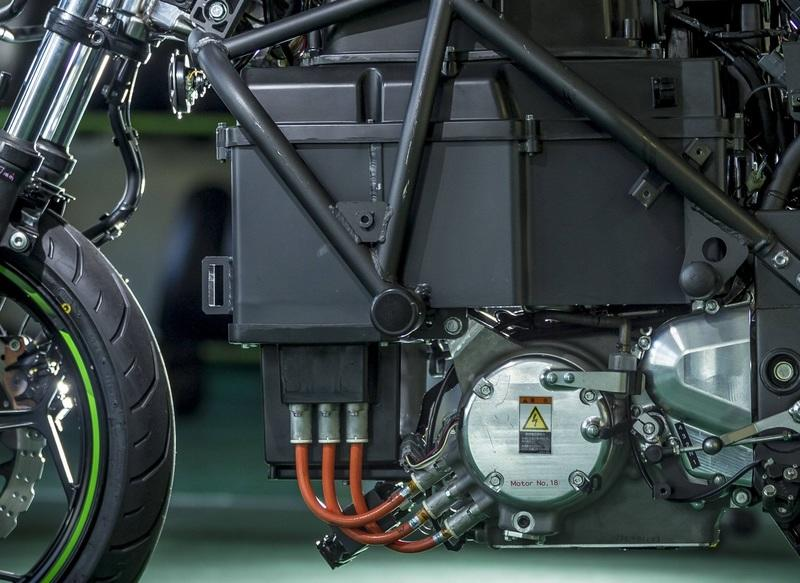 Kawasaki opened up their quota of electric powertrain technology