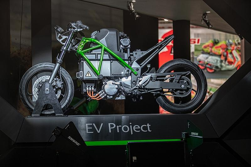 First Look: Kawasaki Electric Concept