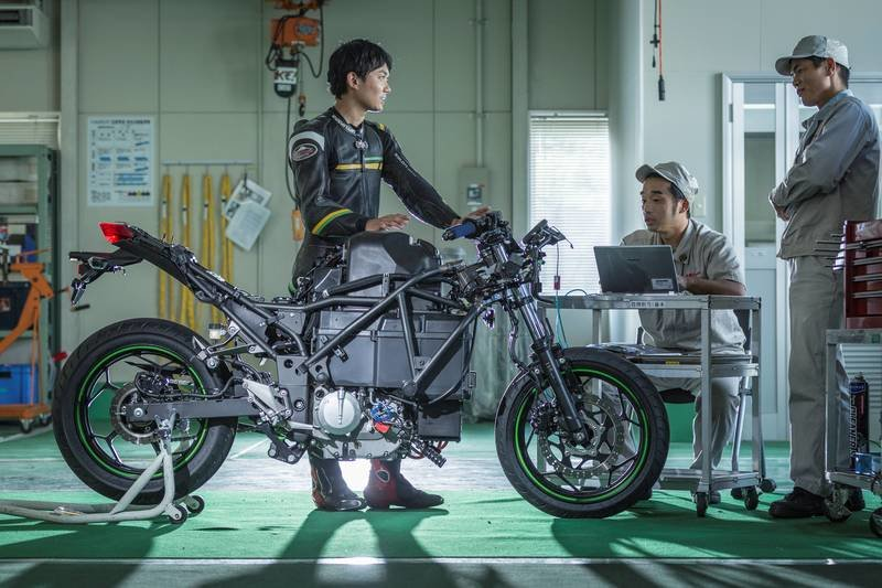 First Look: Kawasaki Electric Concept - image 872378