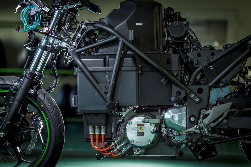 First Look: Kawasaki Electric Concept - image 872384