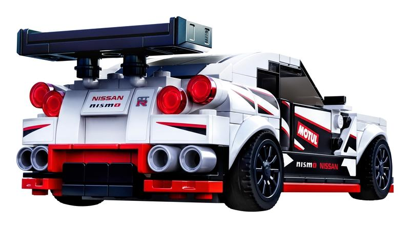 LEGO Speed Champions Introduces a Nissan GT-R NISMO We Can All Afford - image 873740