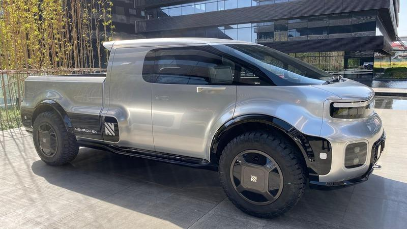 As Cybertruck Hype Calms Down, Conventional Electric Pickups Like the Neuron T/One Have Started Popping Up Exterior - image 873932