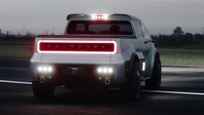 As Cybertruck Hype Calms Down, Conventional Electric Pickups Like the Neuron T/One Have Started Popping Up Exterior - image 873927
