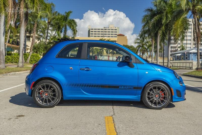 2019 Fiat 500 Abarth Driven Exterior - image 872213