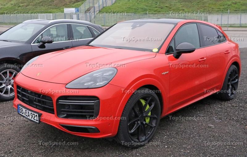 "2021 Porsche Cayenne Turbo S E-Hybrid ""RS"" Coupe"