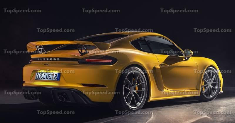 Can You Realistically Expect 500 Horsepower from the 2022 Porsche 718 Cayman GT4 RS? Exterior Spyshots - image 869511
