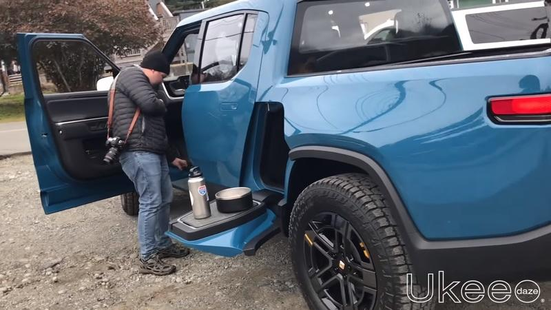 The Rivian R1T Was Spotted During a Commercial Shoot in Canada