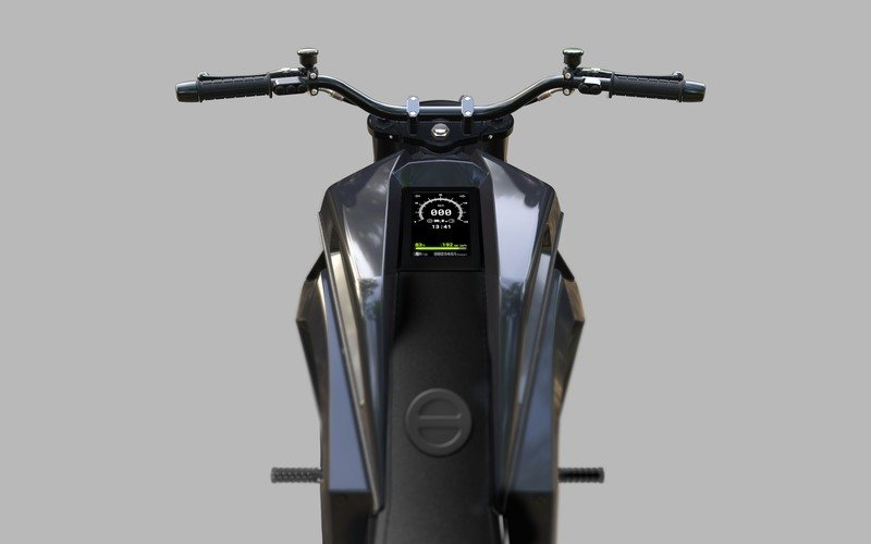 This is the Verge TS, a hubless 738 lb-ft electric superbike