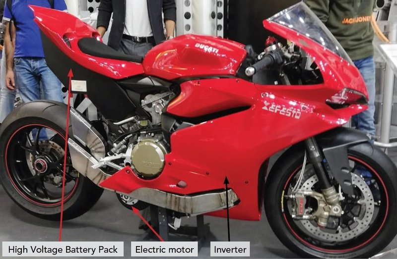 Efesto is developing a 300 hp Ducati 1299 Panigale powered by a hybrid powertrain - image 872988