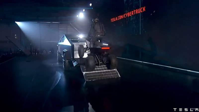 "Tesla unveiled it's rad new ""Cyberquad"" electric ATV prototype at the Cybertruck launch Exterior Screenshots / Gameplay - image 873154"