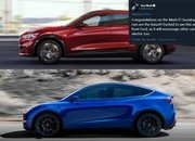The 2021 Ford Mustang Mach-E Is a Carbon Copy of the Tesla Model Y, But What Does Elon Musk Think? - image 872165