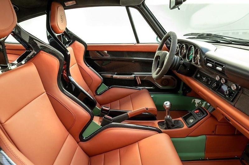 "The Interior of This Porsche 993 ""Greenwich"" By Gunther Werks is the Epitome of Perfection"
