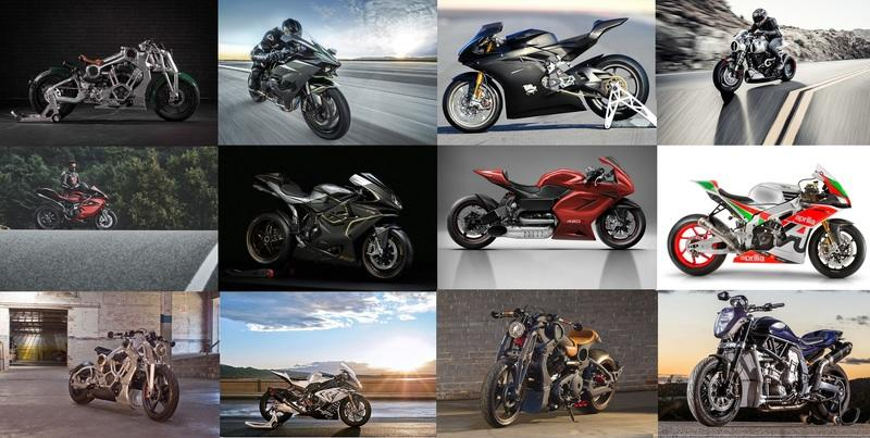 The most expensive motorcycles currently in production