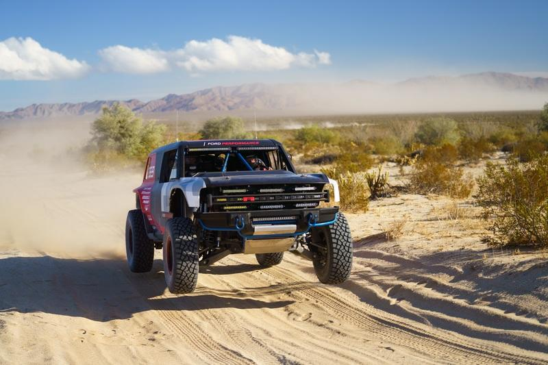 The New Ford Bronco R Couldn't Handle the Baja 1000