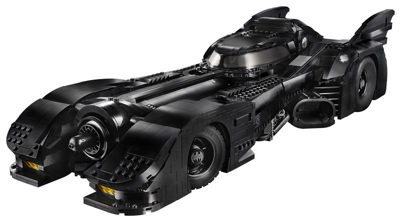 The New Michael Keaton Lego DC Batman Car is Two-Foot of Childhood Dreams Come True - image 870450