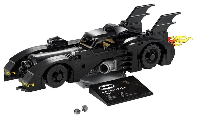 The New Michael Keaton Lego DC Batman Car is Two-Foot of Childhood Dreams Come True - image 870467
