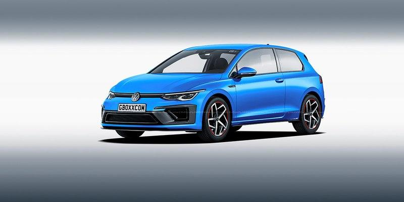 This Rendering of a Three-Door 2020 Volkswagen Golf 8 Makes Us Miss Simpler Times