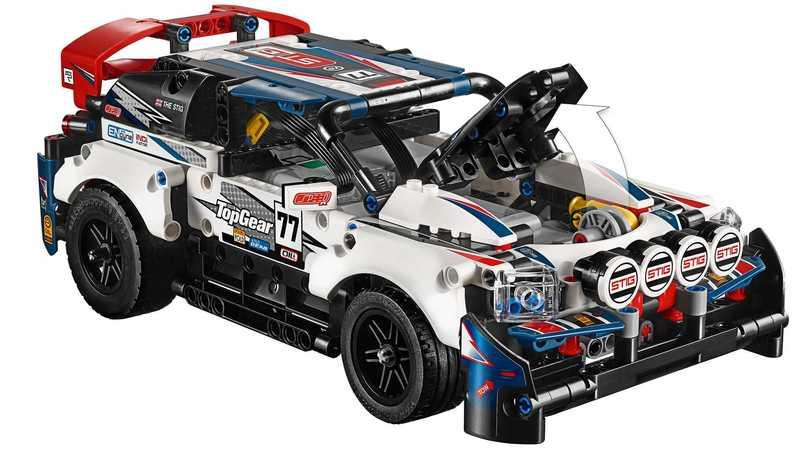 Top Gear's Rally Car Gets The LEGO Technic Treatment