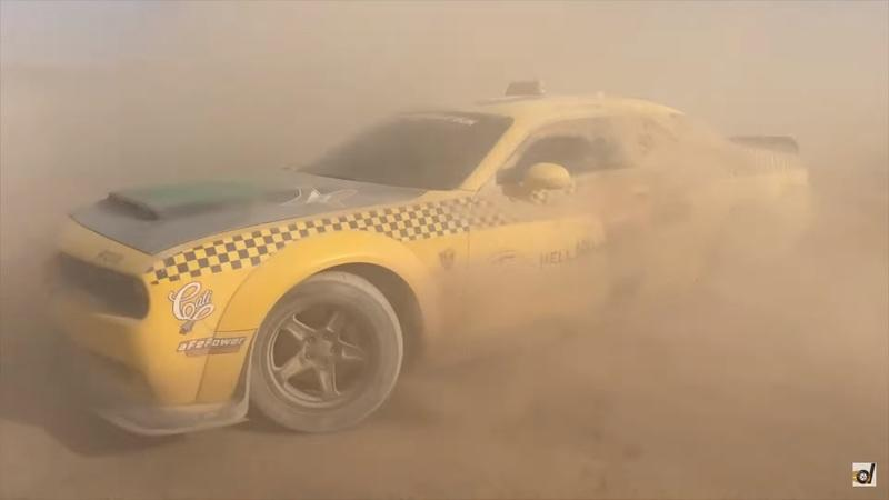 Watch a Toyota Supra, Dodge Demon, and a BMW E30 Go Head to Head in the Desert - image 871838