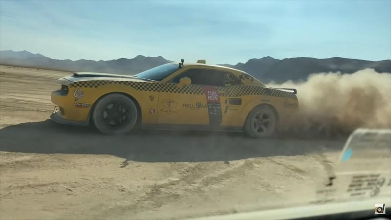 Watch a Toyota Supra, Dodge Demon, and a BMW E30 Go Head to Head in the Desert