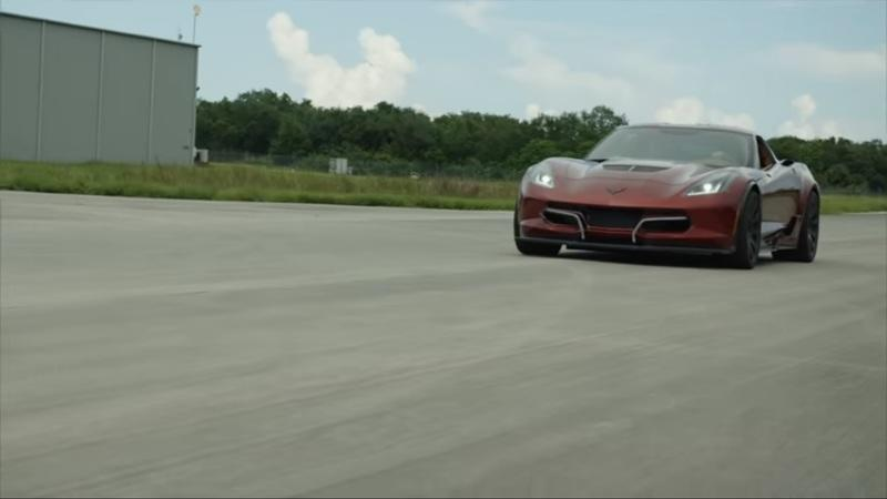 Watch the Genovation GXE Electric Corvette Hit a New Top Speed