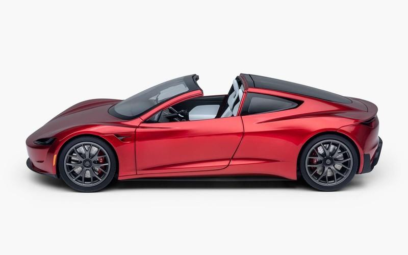 You Can Now Buy a Painfully Accurate 1:18 Scale Diecast Model of the 2021 Tesla Roadster