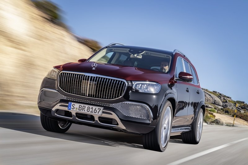 2020 Mercedes-Maybach GLS Picture Gallery