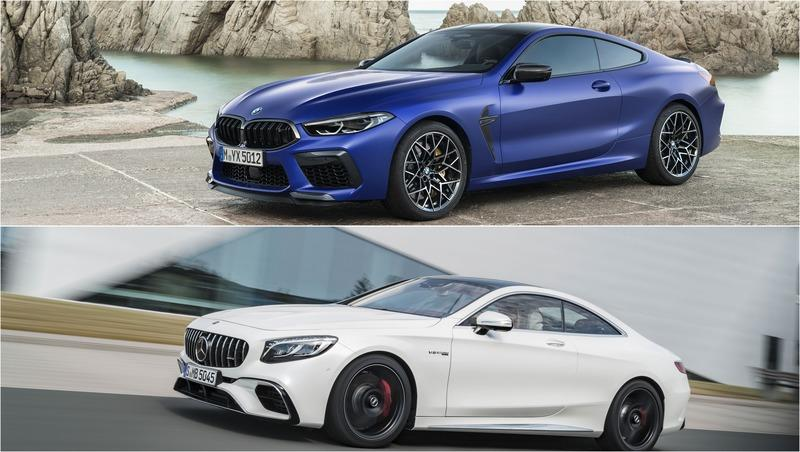 2020 BMW M8 vs 2019 Mercedes-AMG S63