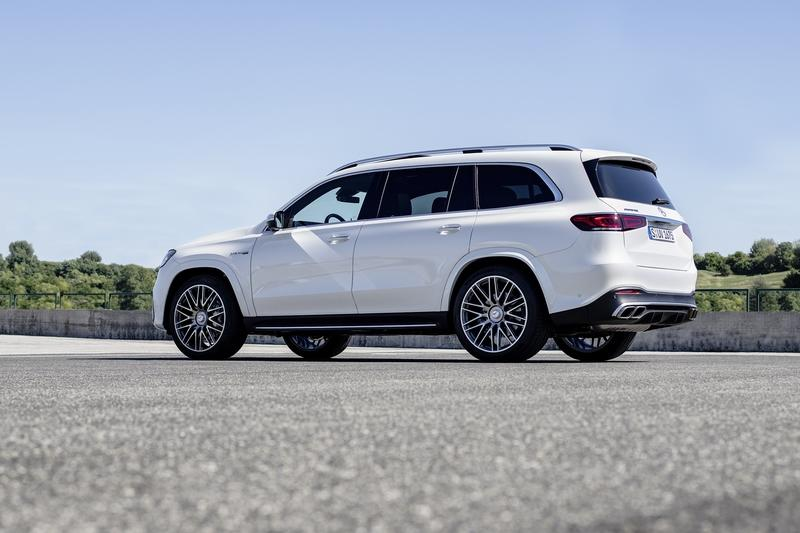2021 Mercedes-AMG GLS 63 4MATIC+ Picture Gallery