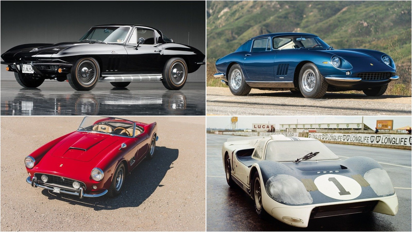 All The Cars From The Ford V Ferrari Movie Le Mans 66